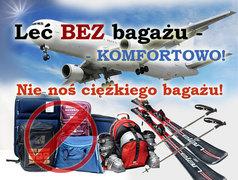 Alpejska linia lotnicza Gdańsk Włochy z transferem do hotelu i transferem bagażu (40kg) BGY GDN