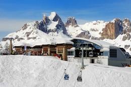 Skibus Bellamonte Alpe Lusia - przejazd na narty w dwie strony (Włochy)