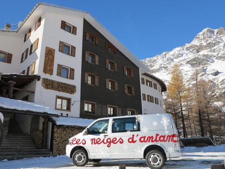 Auberge Les Neiges D'Antan**** - Włochy - Aosta - Breuil Cervinia - w kierunku Matternhorn i Zermatt