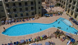 Wczasy na słonecznej Malcie, Hotel Topaz***, śniadania
